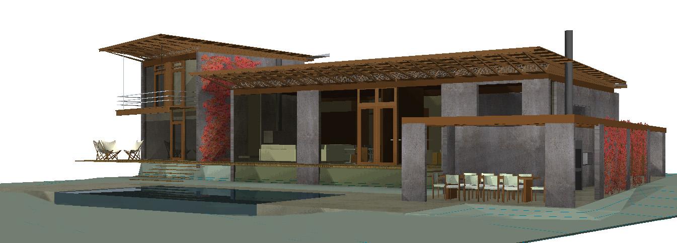 Hormig n visto barcel arquitectura dise o for La casa tiene un techo